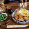 栄 - 料理写真:唐揚げ定食 800円