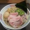 セアブラノ神 伏見剛力 - 料理写真:【背脂煮干そば + 味玉】¥750 + ¥100