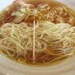 日本橋 大勝軒 - 細麺細さ、自家製麺