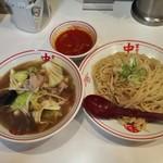 蒙古タンメン中本 - 冷し醤油タンメン+麺特大+プチスープ(ヒヤミ)