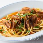 トラットリア シチリアーナ・ドンチッチョ - 『シチリア産マグロのカラスミとミニトマトのスパゲットーニ』
