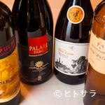 トラットリア シチリアーナ・ドンチッチョ - ワインもすべてシチリア産