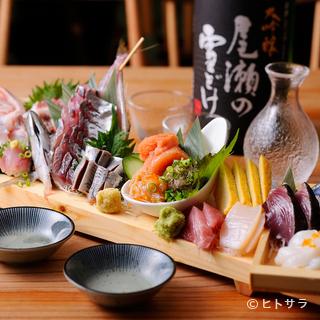 【魚金】自慢の鮮魚を堪能するのなら『玉手箱』がおすすめ