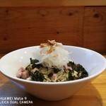 イチカワ - 料理写真:まぜそば ¥800