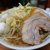 ラーメン二郎 - 料理写真:ラーメン、うずらトッピ