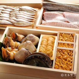 「食材ありき」の姿勢で日々、吟味した食材を選び抜く