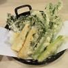 手打ち蕎麦 雷鳥 - 料理写真:「春野菜の天ぷら」