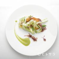 レストランディファランス - 旬を感じる野菜・魚介の数々を大切にしています