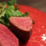 又三郎 - 厚切りステーキ 黒毛和牛☆