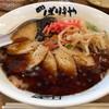 八番山 ばりきや - 料理写真:黒こてめん。肉と玉子。