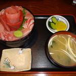 65429097 - 鉄華丼(1850円)