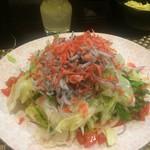 65430634 - 桜海老とジャコのサラダ
