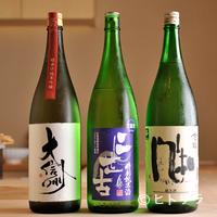 鮨菜 和喜智 - 1種類でも、最後まで飽きのこない酒を集めています