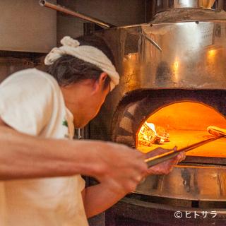 日本の水や風土に合わせた、日本ならではのピザ