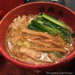 古武士 - こってりつけ麺300g(750円税込)