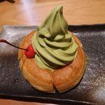 コメダ和喫茶 おかげ庵 - 抹茶ミニシロノワール