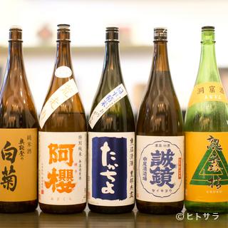 和菓子とのマリアージュを考えた日本酒を、料理人が提案