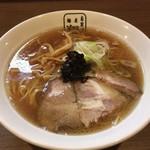 麺屋 翔 - アゴダシラーメン(細麺)@600円