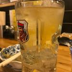大衆酒場 ビートル - レモンサワー