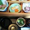 Asims - 料理写真:ご馳走  ざるそば御膳  一段目  お刺身、だし巻き、山菜