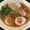 高橋製麺所 - 料理写真:中華そば(594円)+ 玉子TP(108円)