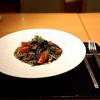 おきゃく - 料理写真:高知鮮魚のイカスミパスタ