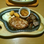 びっくりドンキー - ハンバーグステーキ