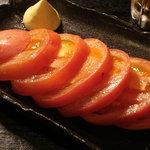 やきとり居酒屋どん - みんなぁ◟(๑・ิټ・ิ๑)◞!!!!トマト食べてるಠ.̫ಠ?