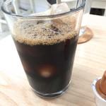 カフェ&ダイニング レジェンド - セットのアイスコーヒー