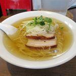 中華そば カリフォルニア - 料理写真:塩煮干そば(500円)