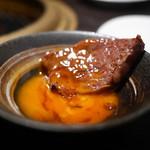SATOブリアン - ヒレすき(糸島のつまんでご卵)