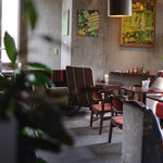 アナログ カフェ ラウンジ トーキョー - 手前側のゾーン