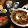 食べ処 きく亭 - 料理写真:ラーメン&ミニ牛丼セット