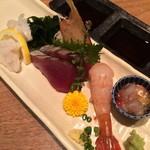 おたる政寿司 - お造り盛り合わせ