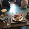 くう食堂 - 料理写真:季節のジュースとフルーツタルトとホットチョコ