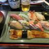 のと前回転寿司 - 料理写真:旬の地物握りセット 1550円(税込) (2017.4)