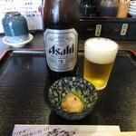のと前回転寿司 - 瓶ビール(中瓶) 500円(税別) (2017.4)