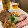 本町製麺所 阿倍野卸売工場 中華そば工房 - 料理写真:おつまみセット 700円 ビールとあうでー