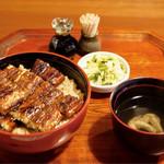 竹屋 - 料理写真:うなぎ丼 特上