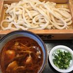 65511115 - 辛肉汁うどん('17/04/15)