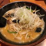 北海道らぁ麺 ひむろ - オロチョンラーメン
