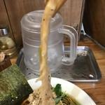 鶏そば  ムタヒロ - 【2017.4.6】長い穂先メンマ。