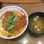 やよい軒 苫小牧明野新町店 - カツ丼。