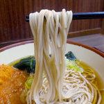 濱そば - コロッケそば(360円)