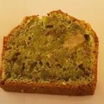 タネ カフェ - 畑のケーキ・小松菜とくるみ