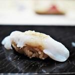 鮨 とかみ - スミイカのゲソ