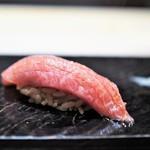 鮨 とかみ - 鮪砂ずり