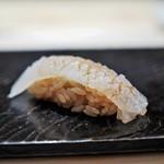 鮨 とかみ - 鱚(きす)の昆布〆