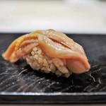 鮨 とかみ - 赤貝ヒモ