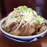 ラーメン二郎 - ラーメン小(800)に野菜